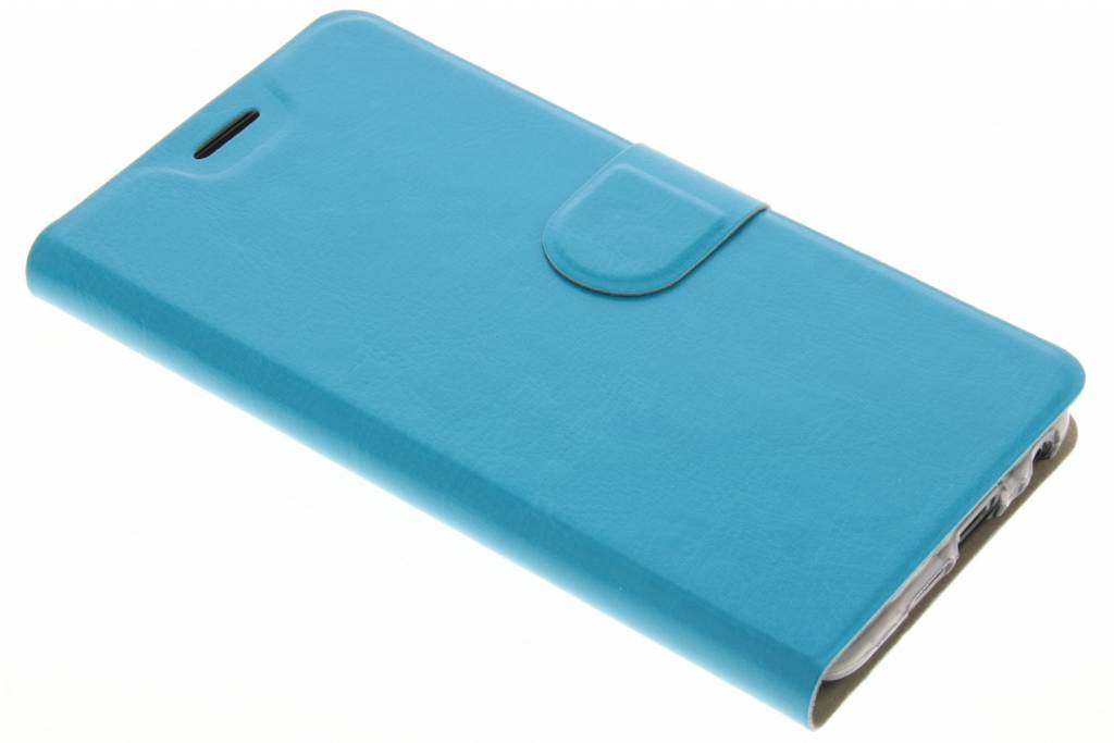 Blauwe  moderne TPU booktype hoes voor de HTC One A9s