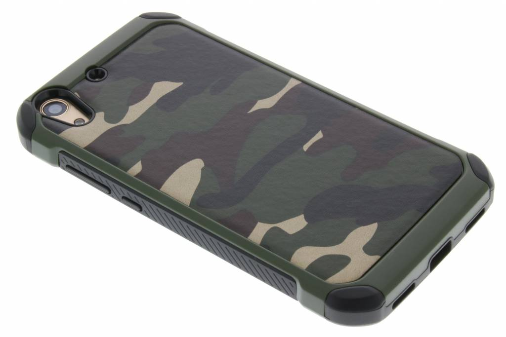 Groen army defender hardcase hoesje voor de Huawei Y6 2