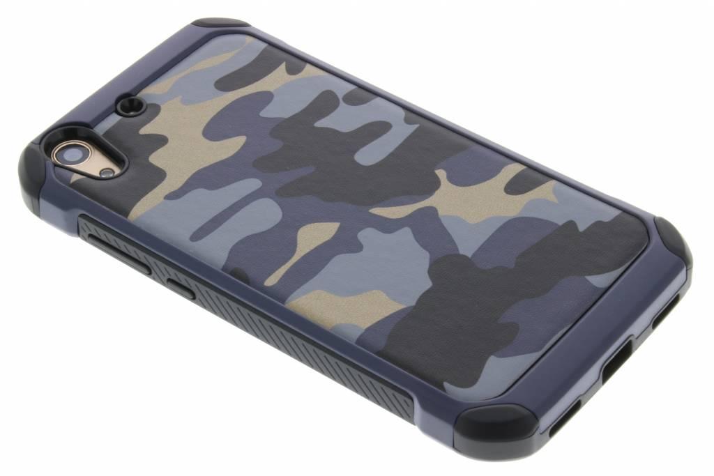 Blauw army defender hardcase hoesje voor de Huawei Y6 2