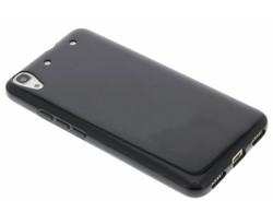 Zwart gel case Huawei Y6