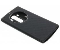 Zwart flipcover met venster LG G4