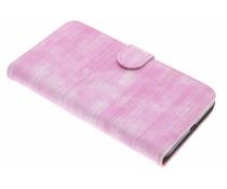 Roze hagedis design booktype Microsoft Lumia 640 XL