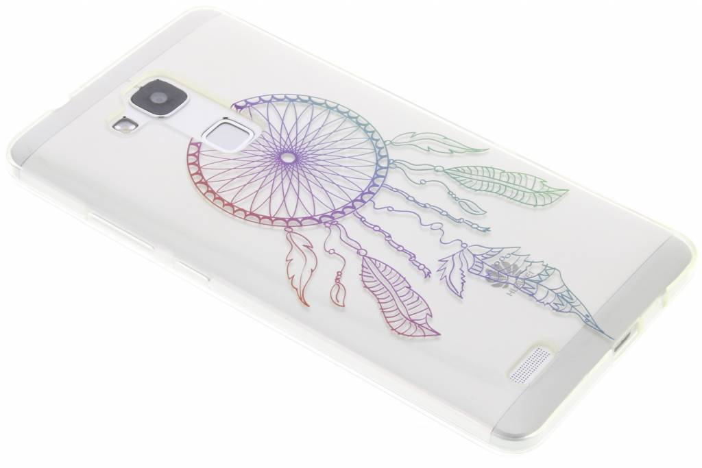 Multicolor dromenvanger design TPU hoesje voor de Huawei Ascend Mate 7