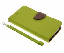 Blad design TPU booktype hoes Xiaomi Redmi Note 3