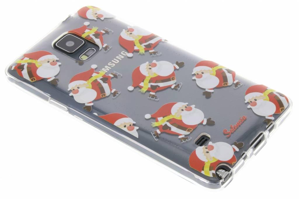 Winter Wonderland Kerstman TPU hoesje voor de Samsung Galaxy Note 4
