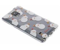 Selencia Winter Wonderland TPU hoesje Samsung Galaxy Note 4