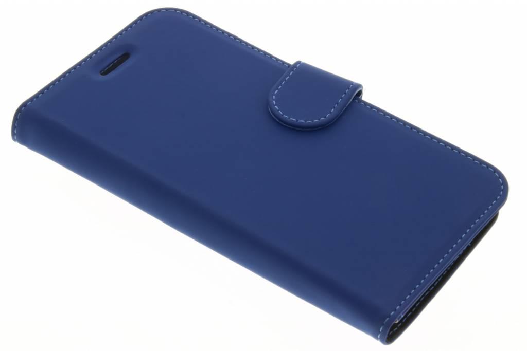 Accezz Wallet TPU Booklet voor de Samsung Galaxy J7 (2016) - Blauw