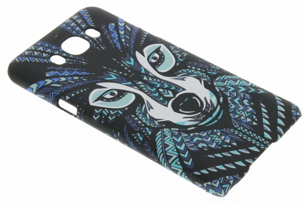 Wolf aztec animal design hardcase voor de Samsung Galaxy J7 (2016)