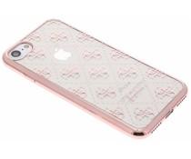 Guess Scarlett TPU Case iPhone 7 - Rosé goud
