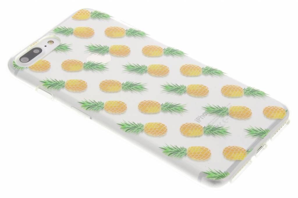 Transparant ananas design TPU hoesje voor de iPhone 8 Plus / 7 Plus