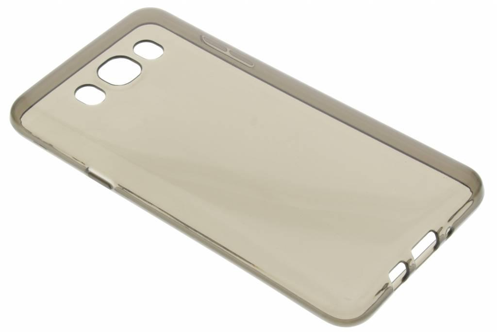 Grijze transparante gel case voor de Samsung Galaxy J7 (2016)