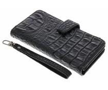 Zwart Krokodil Wallet Case OnePlus One