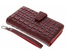 Rood Krokodil Wallet Case Sony Xperia M5