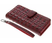 Rood Krokodil Wallet Case OnePlus 3 / 3T