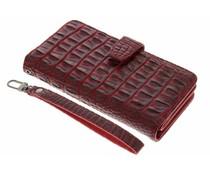 Rood Krokodil Wallet Case Google Pixel XL
