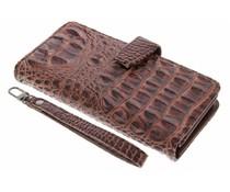Bruin Krokodil Wallet Case Samsung Galaxy J7 (2016)