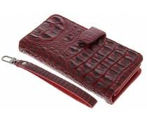 Rood Krokodil Wallet Case Samsung Galaxy J7 (2016)