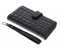 Zwart Krokodil Wallet Case Google Pixel