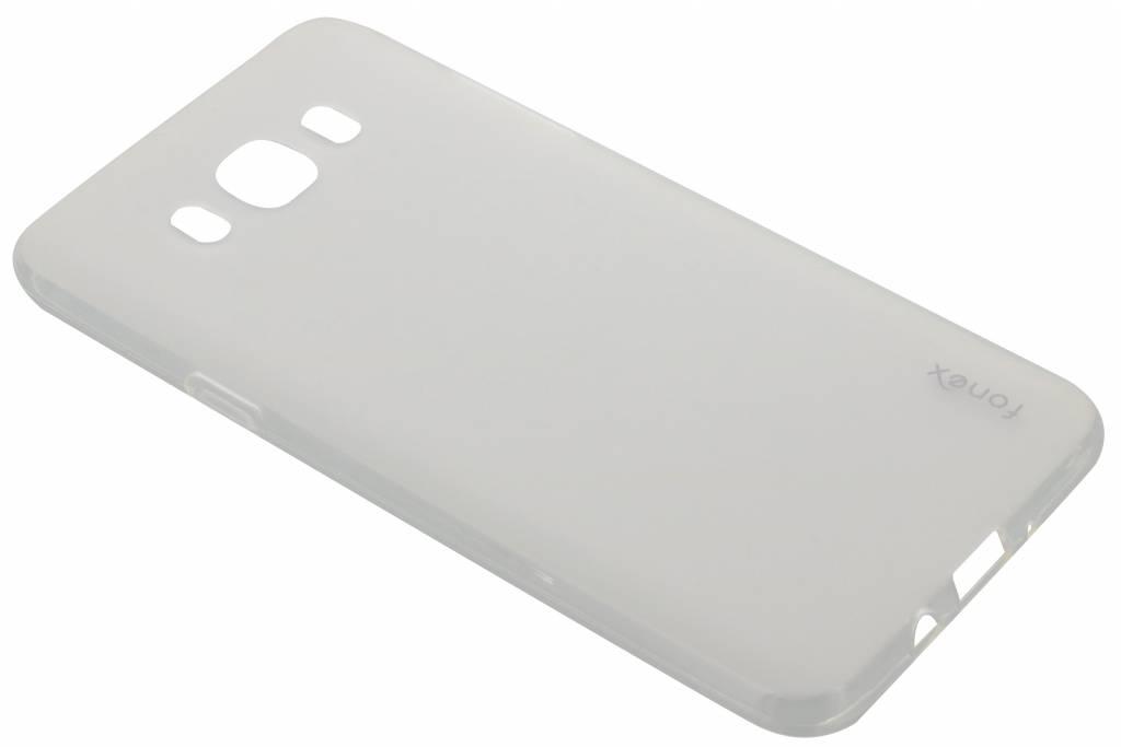 Fonex Invisible Ultra Thin Case voor de Samsung Galaxy J7 (2016) - Grijs