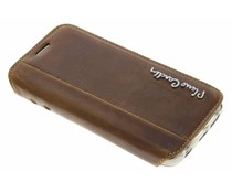 Pierre Cardin Book Case Samsung Galaxy S6 Edge - Bruin
