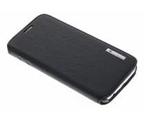 Pierre Cardin Book Case Samsung Galaxy S6 Edge - Zwart