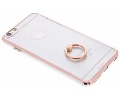 Transparant hardcase hoesje met ring iPhone 6(s) Plus