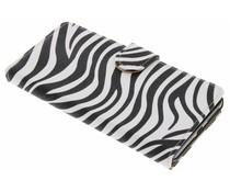 Zebra booktype hoes Sony Xperia E5