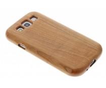 Echt houten hardcase hoesje Samsung Galaxy S3 / Neo