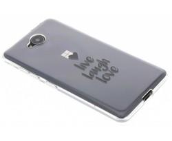 Quote design TPU hoesje Microsoft Lumia 650