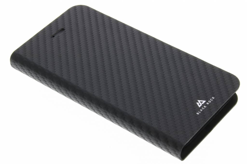Black Rock Zwarte Flex Carbon Booklet Case voor de iPhone 8 / 7 / 6 / 6s