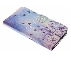 Design TPU booktype hoes LG K8