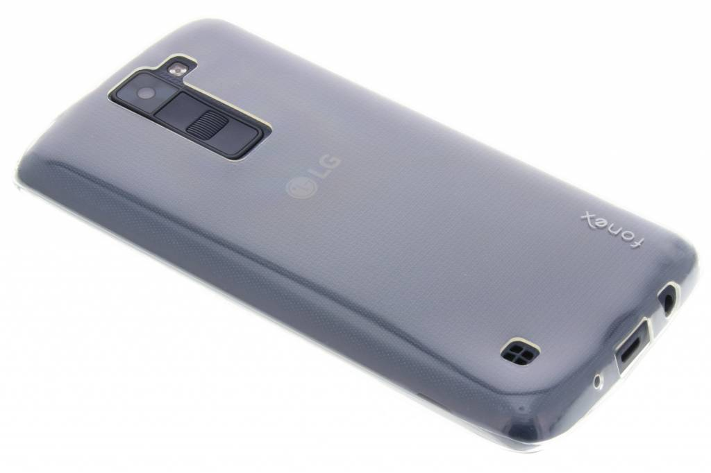 Fonex Invisible Ultra Thin Case voor de LG K8 - Transparant