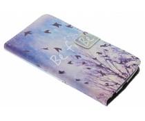 Design TPU booktype hoes LG K10