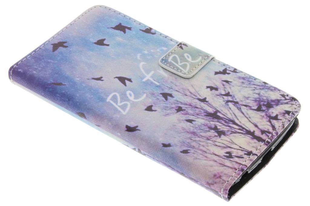 Be free design TPU booktype hoes voor de LG K10