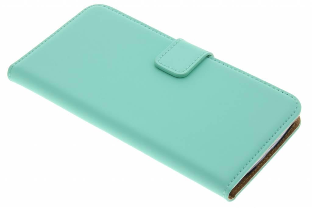 Selencia Luxe Book Case voor de LG K10 - Mintgroen