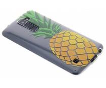 Transparant fruit design TPU hoesje LG K10