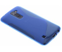 Blauw S-line TPU hoesje LG K10