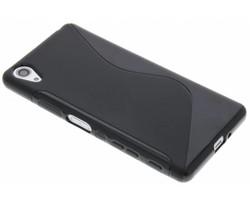 Zwart S-line TPU hoesje Sony Xperia X Performance