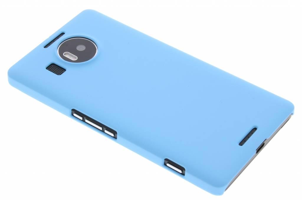 Turquoise effen hardcase hoesje voor de Microsoft Lumia 950 XL