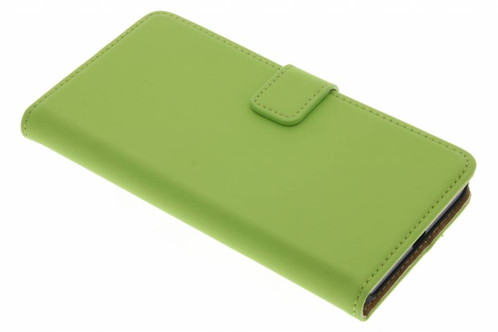 Selencia Luxe Book Case voor de Microsoft Lumia 950 - Groen