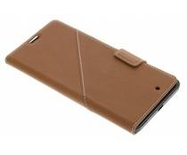 Mozo Thin flip cover Microsoft Lumia 950 - Bruin