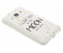 Quote design TPU hoesje Samsung Galaxy J1