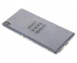 Quote design TPU hoesje Sony Xperia XA