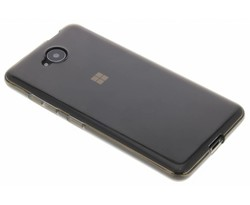 Grijs transparant gel case Microsoft Lumia 650