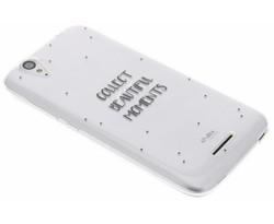 Quote design TPU hoesje Acer Liquid Z630