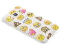 Emoji design TPU hoesje Samsung Galaxy J1