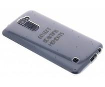 Quote design TPU hoesje LG K10