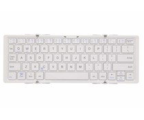 Opvouwbaar Bluetooth toetsenbord - Zilver