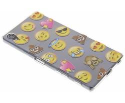 Emoji design TPU hoesje Sony Xperia Z5 Premium
