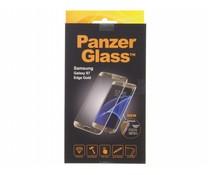 PanzerGlass Premium Screenprotector Samsung Galaxy S7 Edge - Gold
